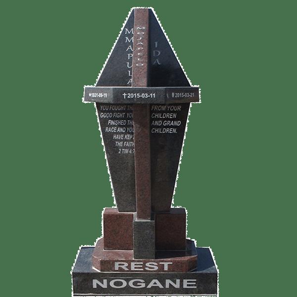 HOG106- tombstone - House of Granite