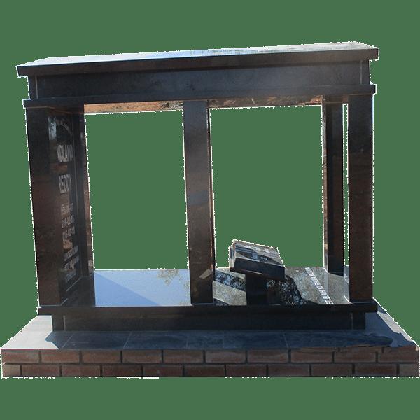 HOG114- tombstone - House of Granite
