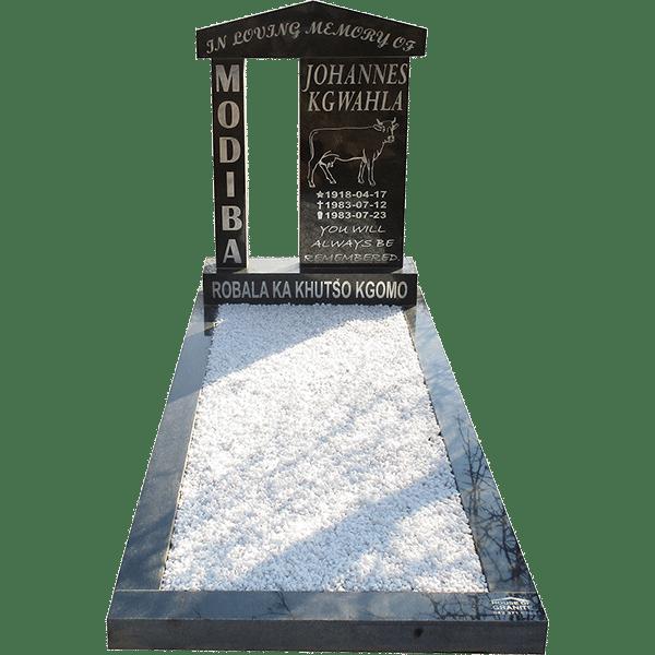 HOG22- tombstone - House of Granite