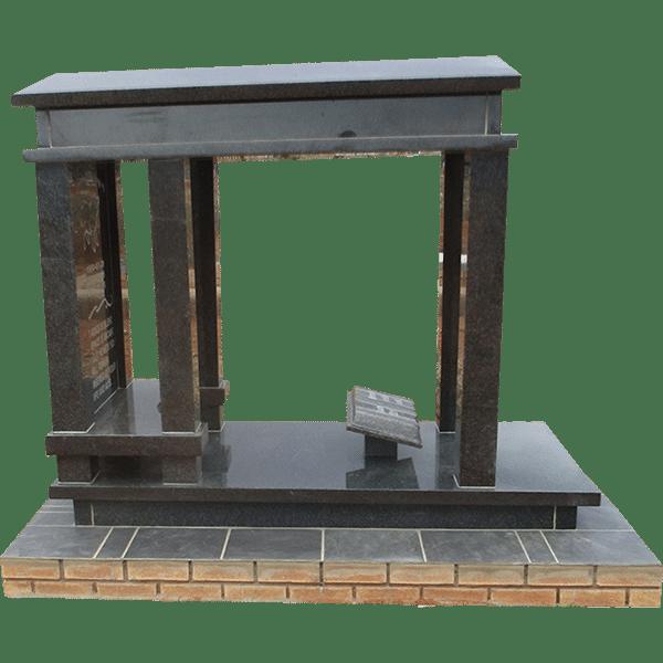 HOG25- tombstone - House of Granite
