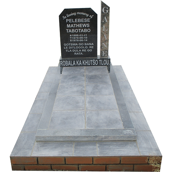 HOG42- tombstone - House of Granite