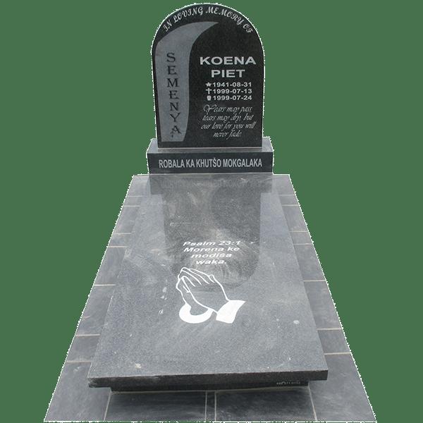 HOG67- tombstone - House of Granite