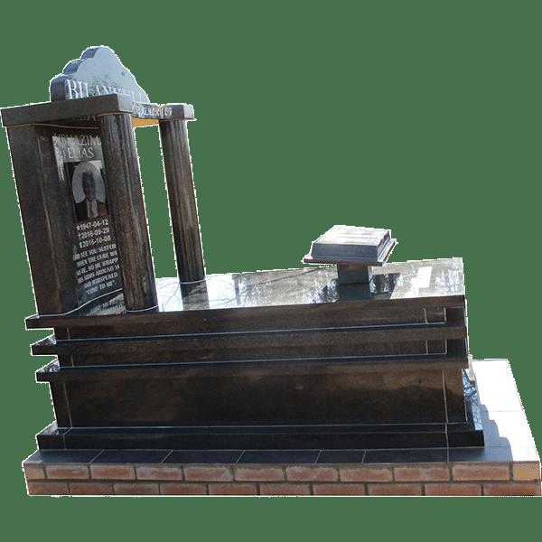 ROUND PILLARS- tombstone - House of Granite