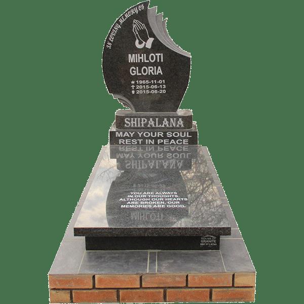 Tear Drop- tombstone - House of Granite